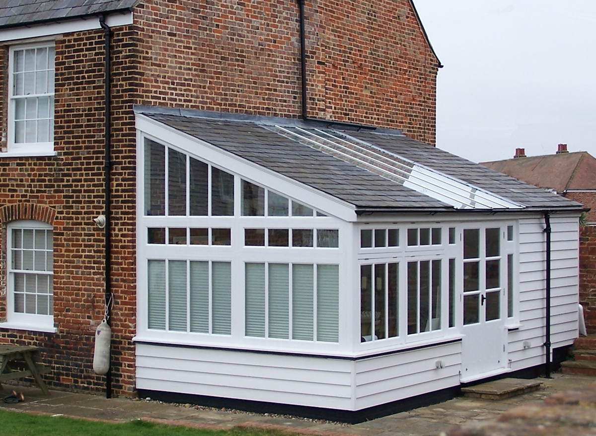 Conservatory added to Listed Building